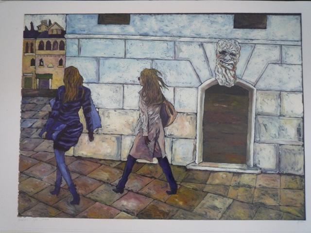 """""""Dai viaggi"""", mostra personale del pittore Ladislav Sýkora"""