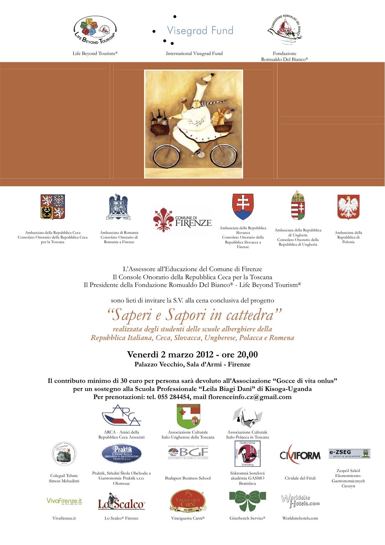 Saperi e Sapori in Cattedra 2012