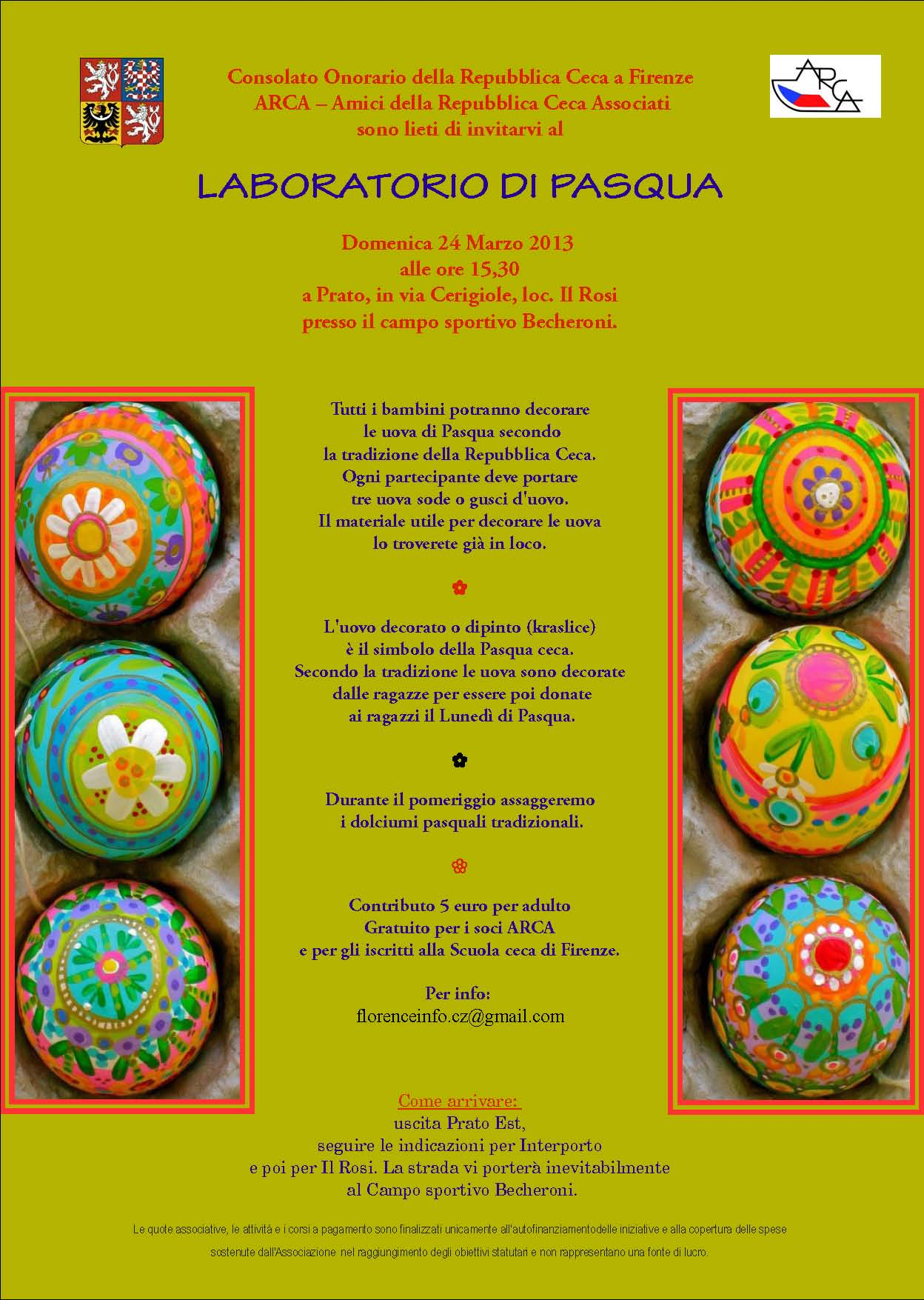 Laboratorio di pasqua consolato onorario della - Decorazioni uova pasquali per bambini ...