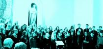 Il coro ceco del ginnasio di Strakonice alla Parrocchia Beata Vergine Maria Regina della Pace a Firenze