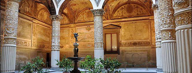 La veduta di Bratislava in Palazzo Vecchio a Firenze