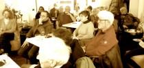 Alcune foto dell'incontro con Milan Augustin al Caffè Astra a Firenze
