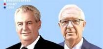 Elezioni presidenziali in Repubblica Ceca, ballottaggio Zeman-Drahos. Druhé kolo volby prezidenta republiky 26.-27. ledna 2018